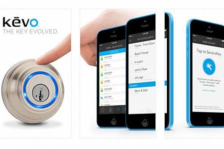 قفلها: شرکت Kwikset ابزاری با نام Kevo Bluetooth ساخته است که امکان باز کردن بیسیم قفلها از طریق گوشی هوشمند یا تبلت را فراهم میکند