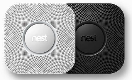 چراغهای Nest Protect به هنگام خطر زرد میشود، با صدای انسان شروع به صحبت میکند و مشکل ایجاد شده را با شدت آن توضیح میدهد