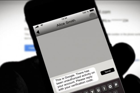 هکر با ارسال یک پیامک ادعا میکند که ارایهدهند سرویس ایمیل است و از شما میخواهد کد امنیتی را به شماره او پیامک بزنید