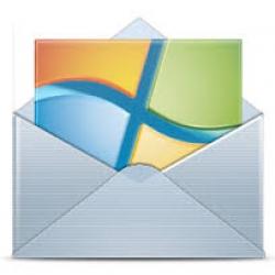 تنظیم Windows Mail
