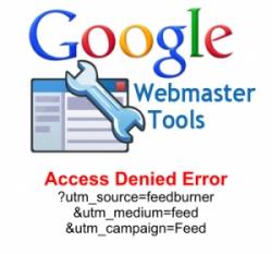 عدم دسترسی گوگل به سایت