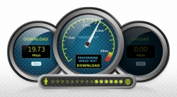 تست سرعت اینترنت سرور مجازی