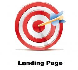صفحه فرود استاندارد در طراحی سایت