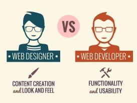 تفاوت طراحی سایت و توسعه ان