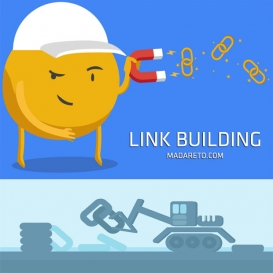 بهینه سازی با محتوا و Link Building
